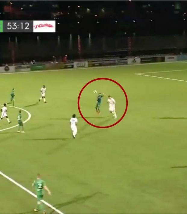 Goalkeeper assist