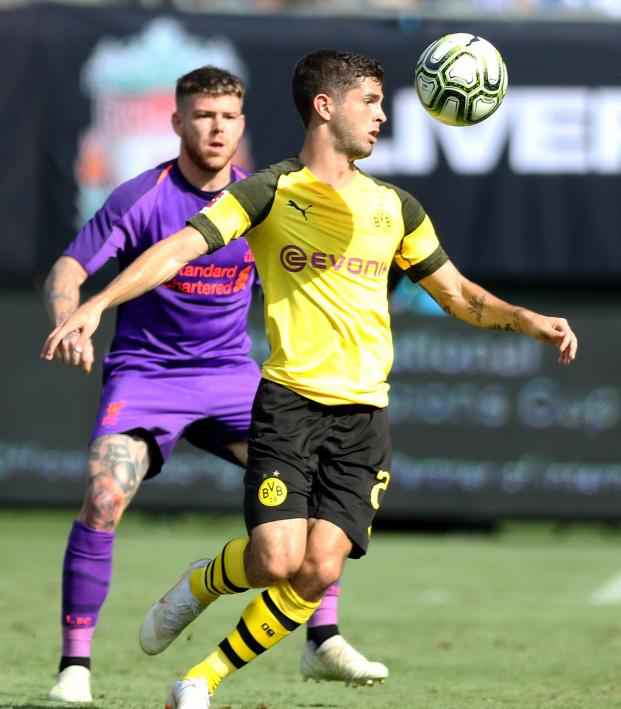 Christian Pulisic vs Liverpool Highlights