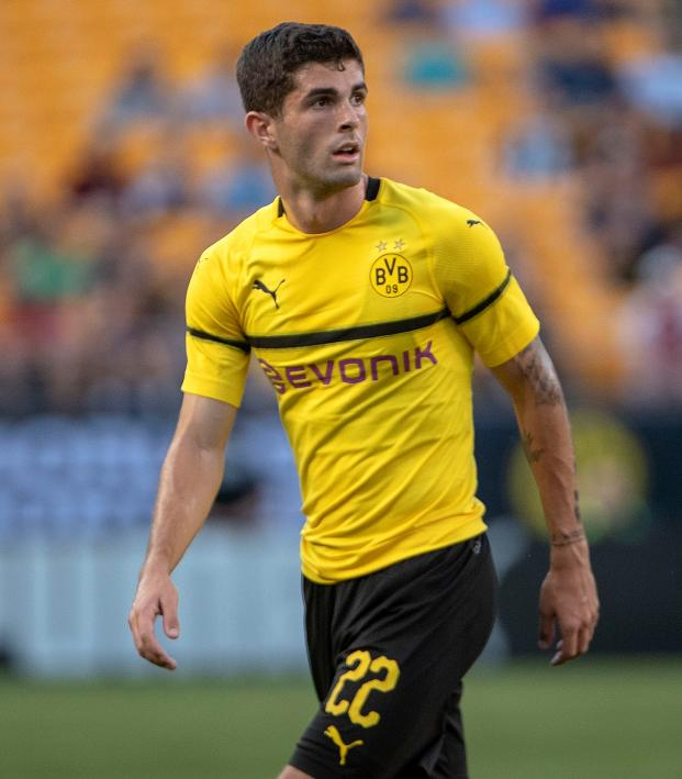 Christian Pulisic Dortmund goal