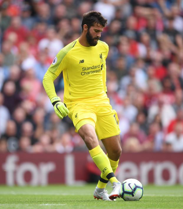 Alisson vs Brighton flick
