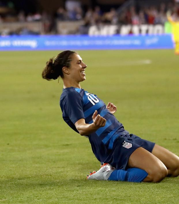 e6628c52c7a Hat Trick Hero Carli Lloyd Inspires USWNT To 5-0 Win Over Panama