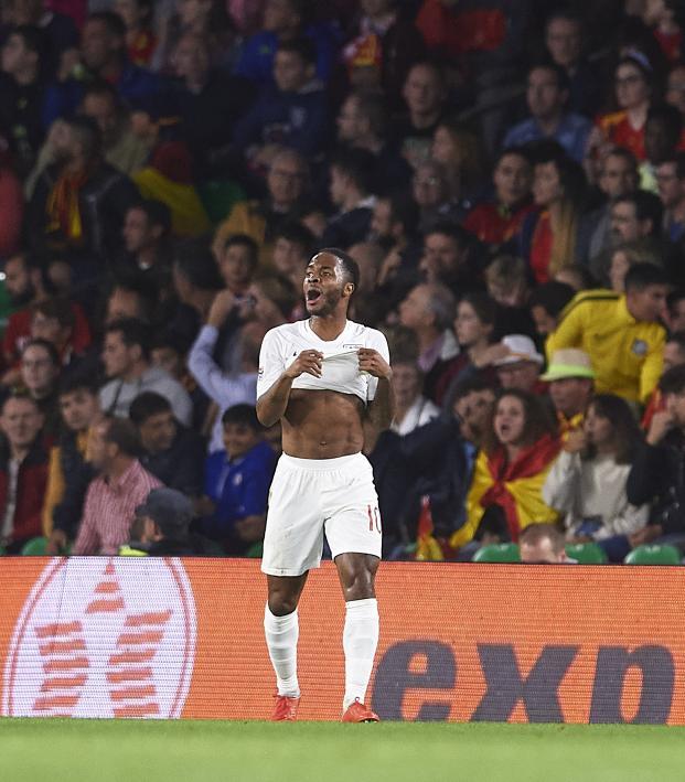 Raheem Sterling goals vs Spain