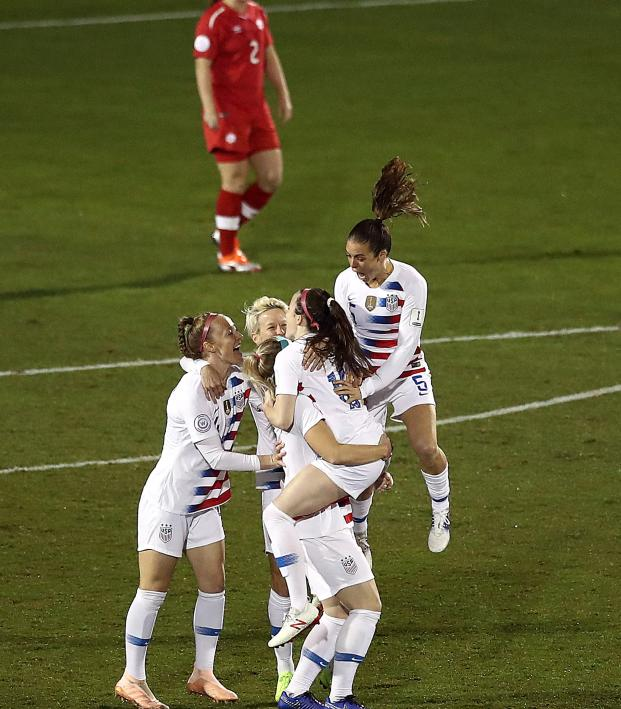 USWNT wins CONCACAF