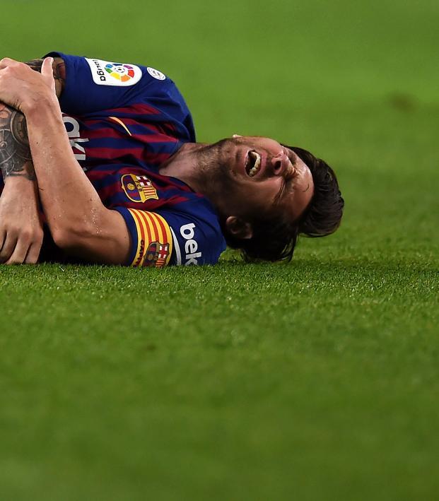 Lionel Messi injury news now