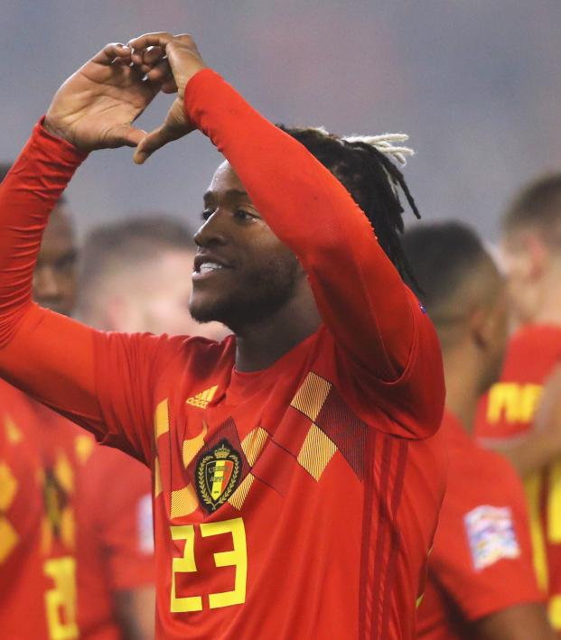 Michy Batshuayi Chelsea return