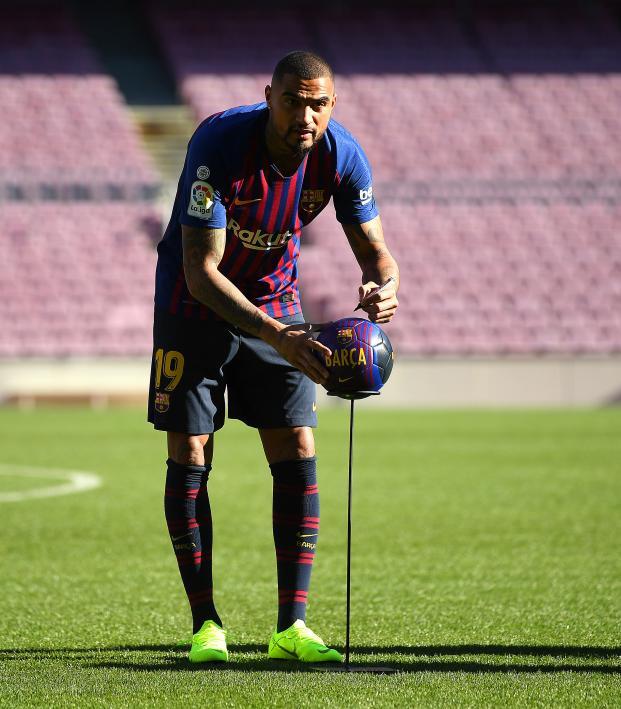 Kevin-Prince Boateng Barcelona transfer