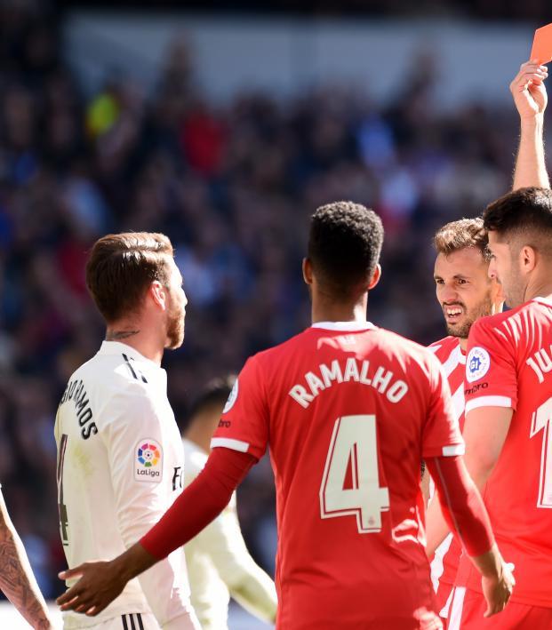 Sergio Ramos reds