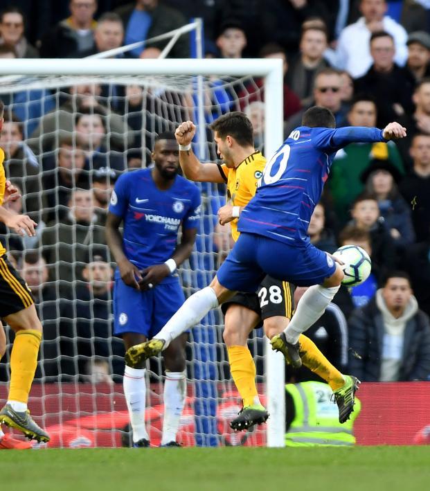 Eden Hazard goal vs Wolves