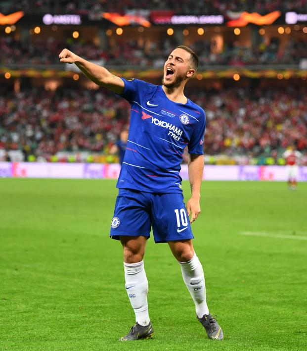 Eden Hazard final Chelsea game