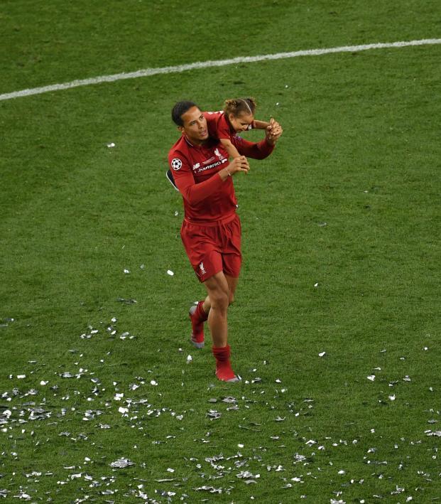 Virgil van Dijk Ballon d'Or