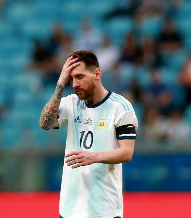 Lionel Messi Argentina miss in Copa America