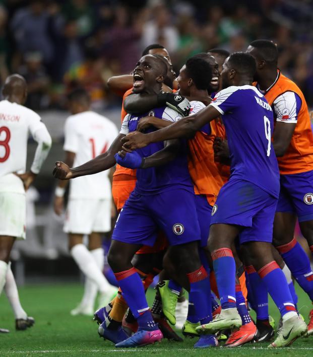 Haiti upsets Canada at Gold Cup