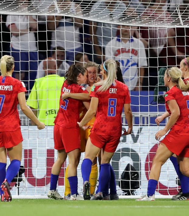 Alyssa Naeher penalty save vs England