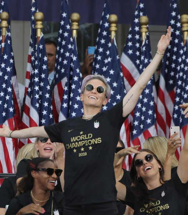 Megan Rapinoe speech New York City