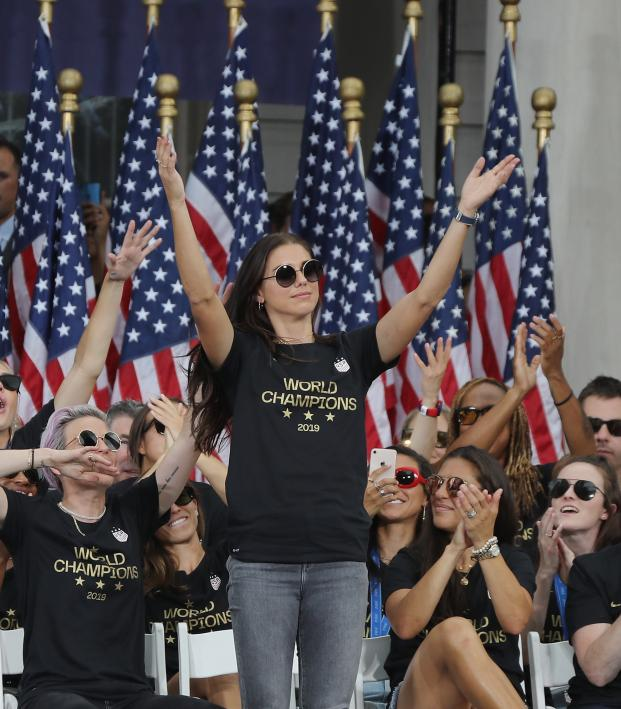 USWNT visit White House