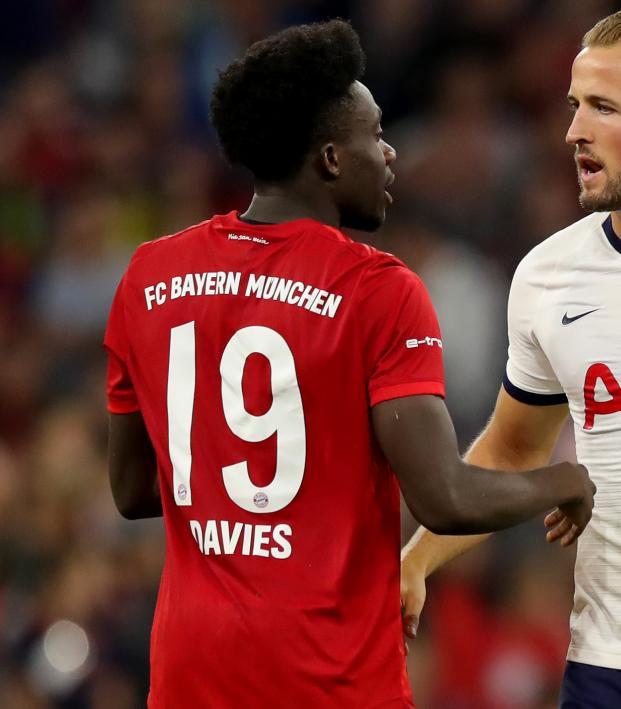 Alphonso Davies vs Tottenham