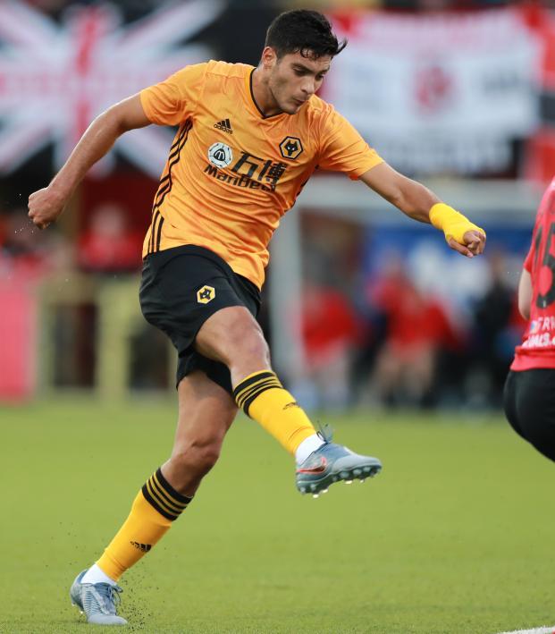 Raul Jimenez goals followed by injury