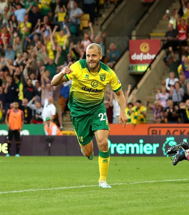 Norwich City tactics