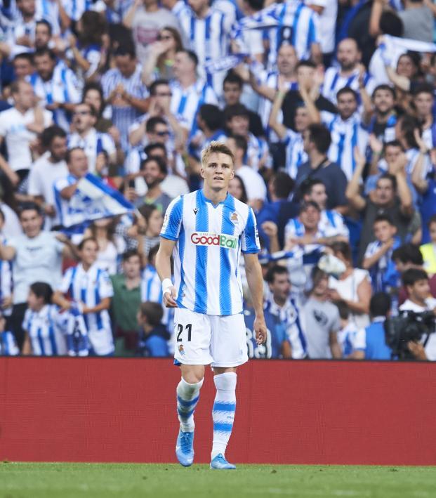 Martin Odegaard Real Sociedad highlights