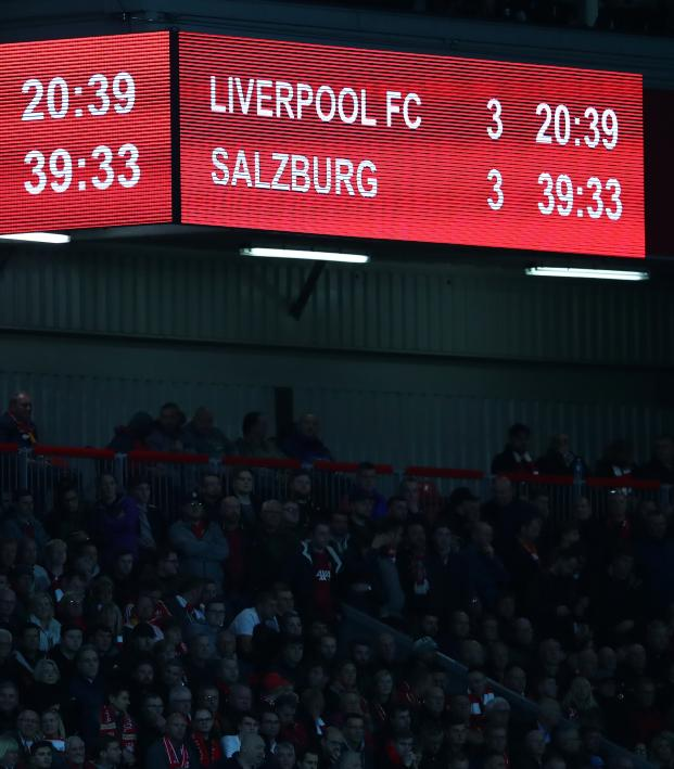 Liverpool vs Salzburg highlights 2019