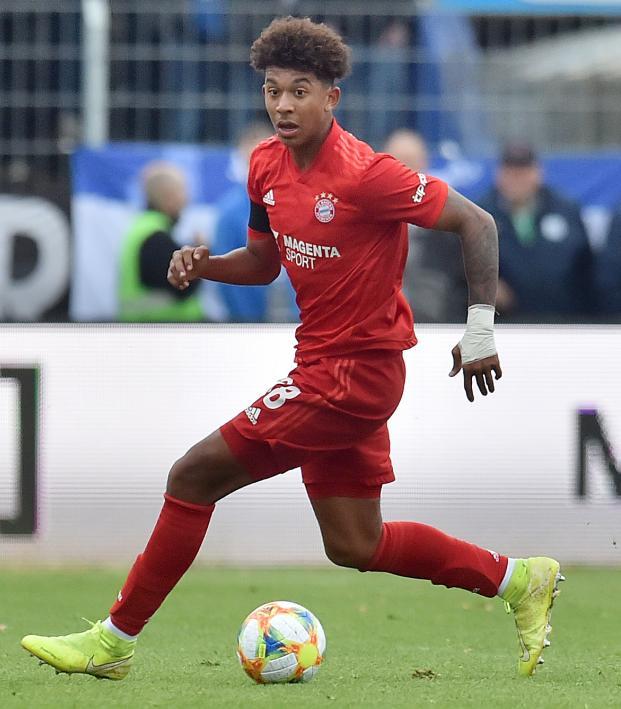 Bayern Munich's Chris Richards