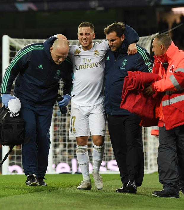 Eden Hazard injury