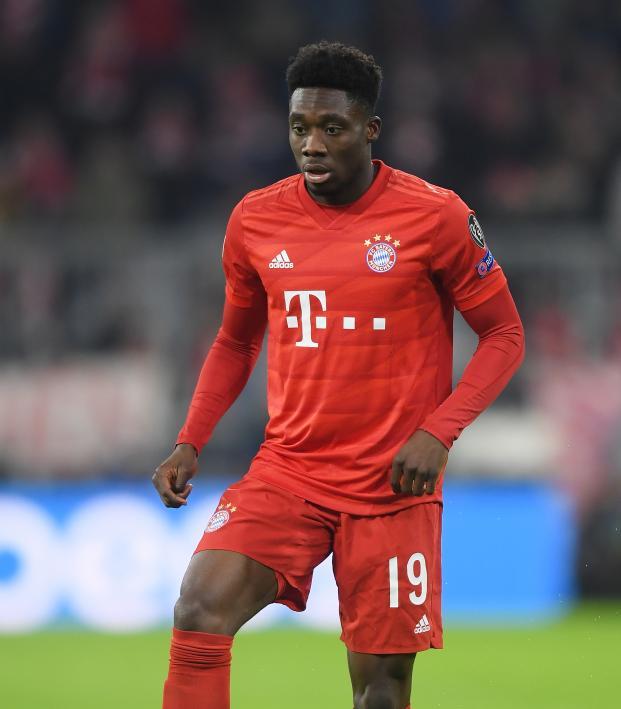 Alphonso Davies Bayern Munich