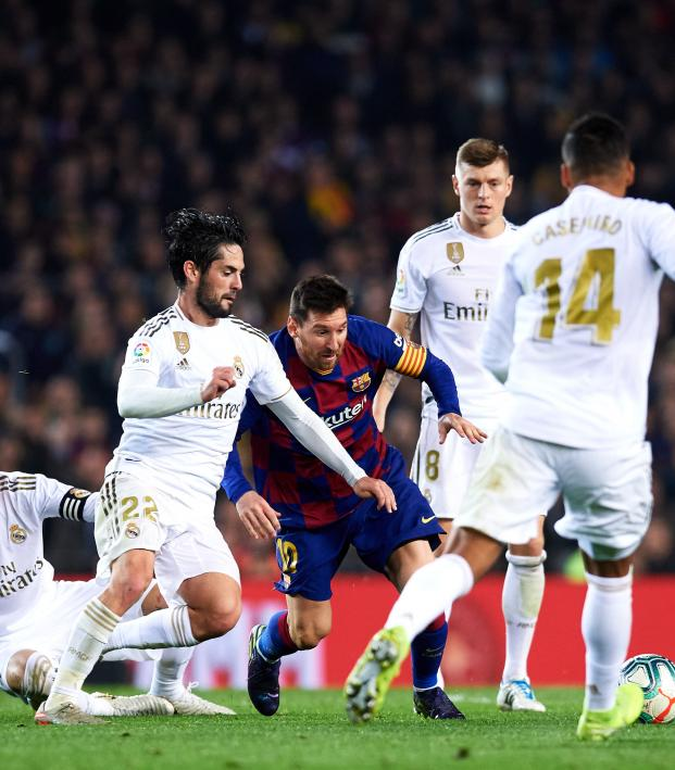 What time is El Clasico 2020 date