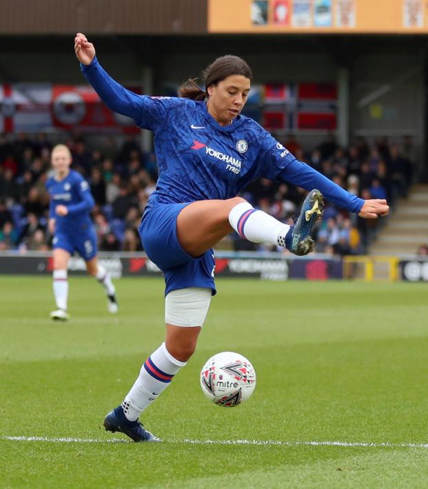 Sam Kerr Chelsea debut