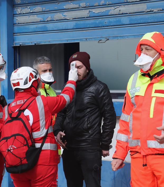 Italy coronavirus impacting Serie A