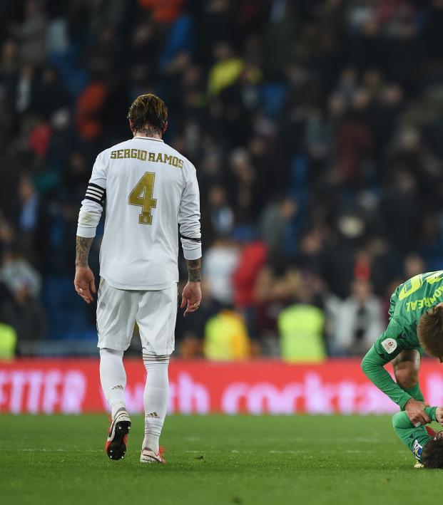 Real Madrid vs Real Sociedad Copa del Rey