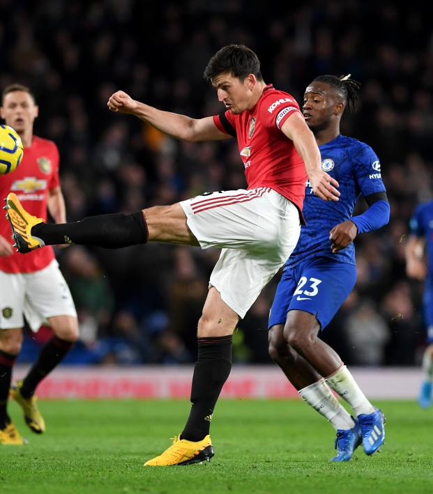 Maguire Kicks Batshuayi