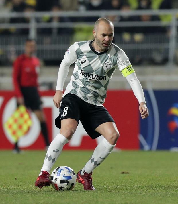 Andres Iniesta age
