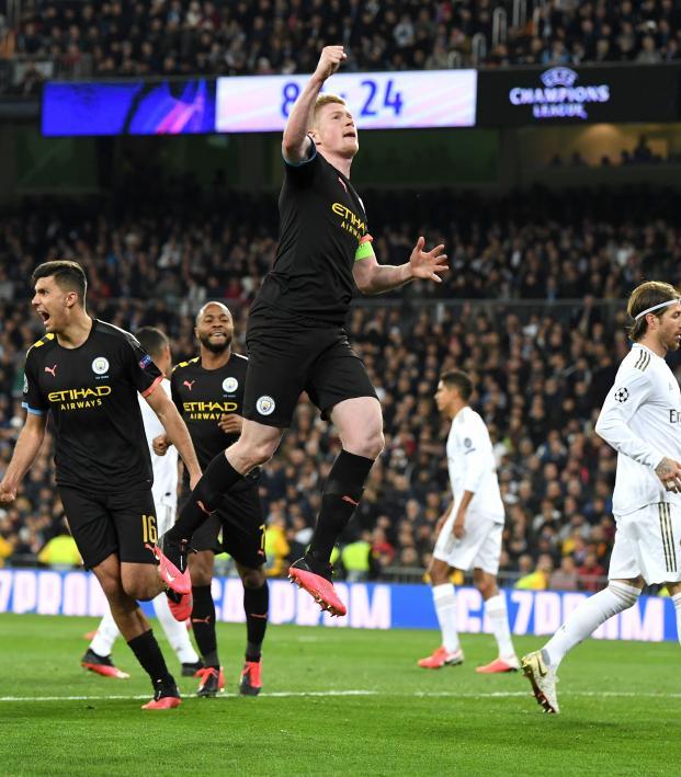 Kevin De Bruyne vs Real Madrid