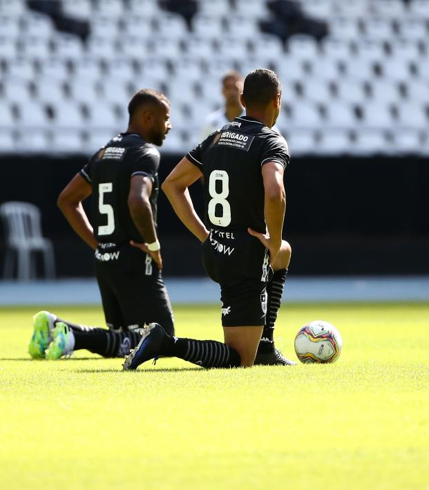Botafogo protests the Rio restart