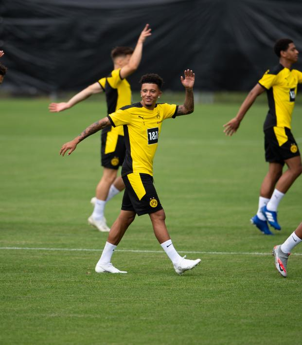 Jadon Sancho Man United Transfer News