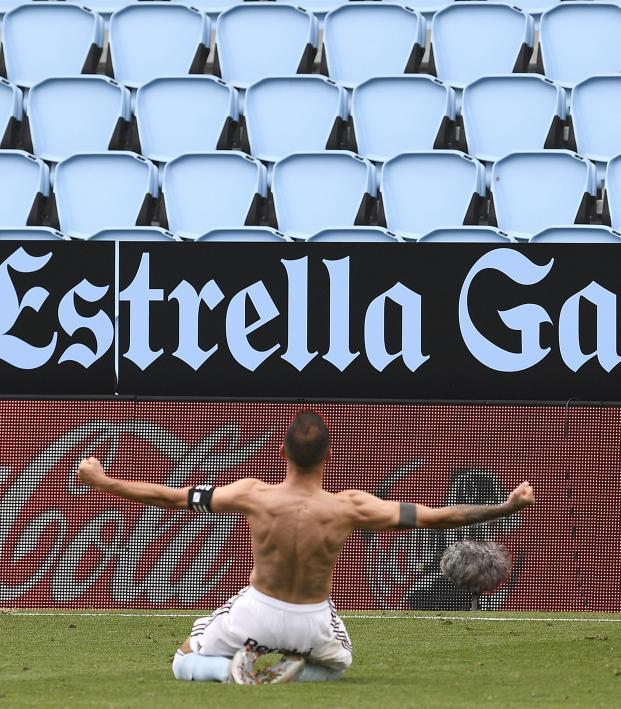 Celta Vigo's Iago Aspas