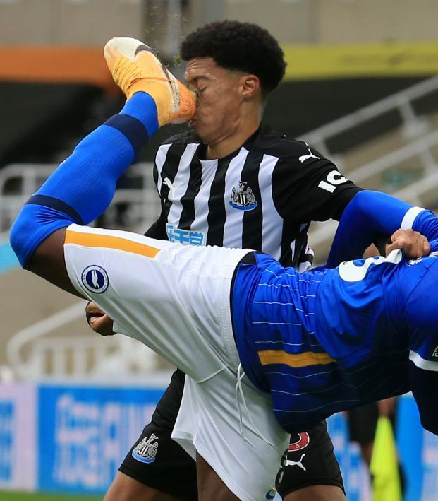 Yves Bissouma red card