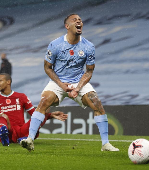 Gabriel Jesus goal vs Liverpool