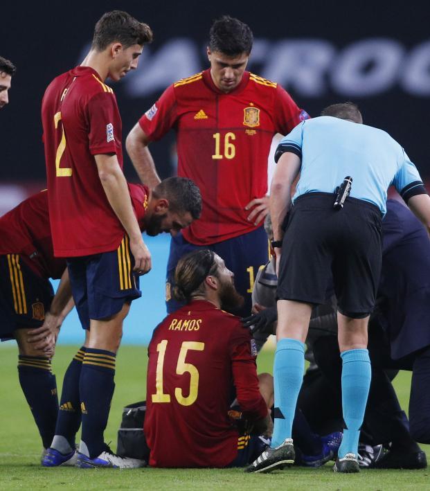 Sergio Ramos injury