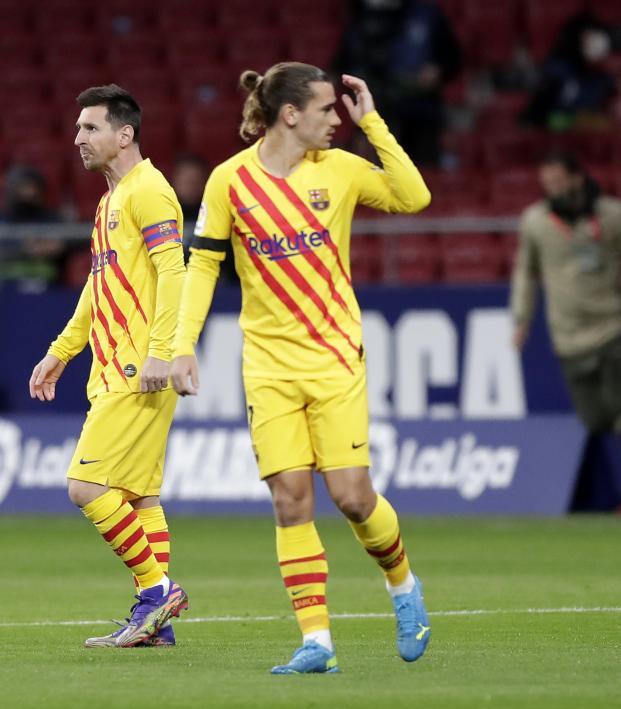 Antoine Griezmann Lionel Messi