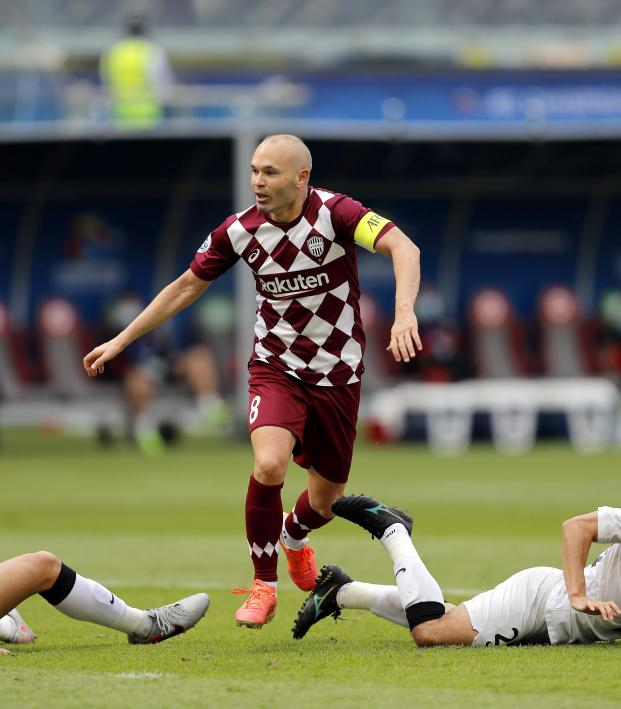 Andres Iniesta AFC Champions League