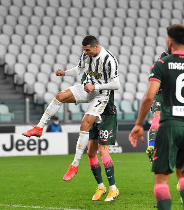 Cristiano Ronaldo heading