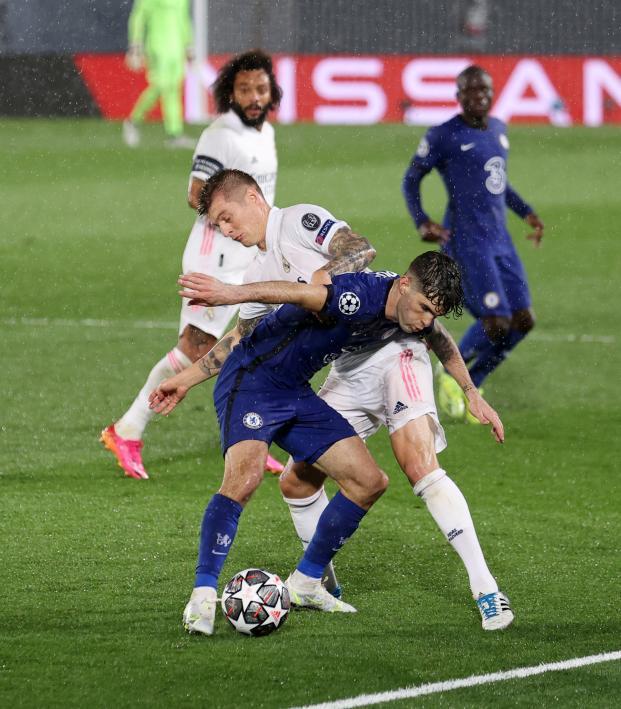 Christian Pulisic vs Real Madrid