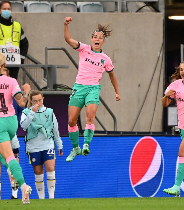 Women's Champions League Final won by Barcelona