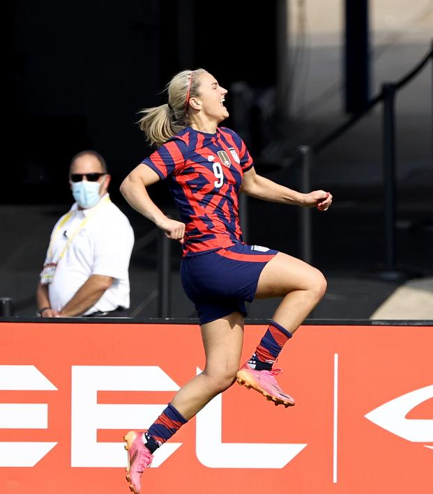 USWNT Vs Mexico: Lindsey Horan goal