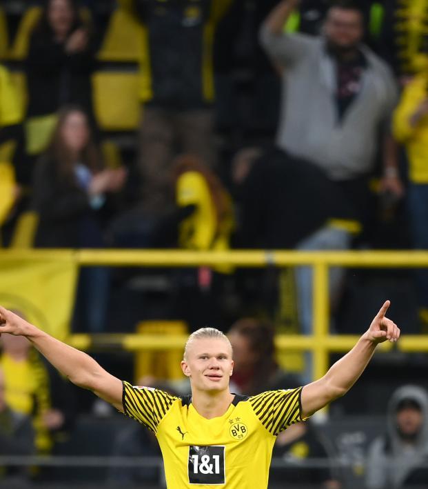 Erling Haaland goal vs Union Berlin