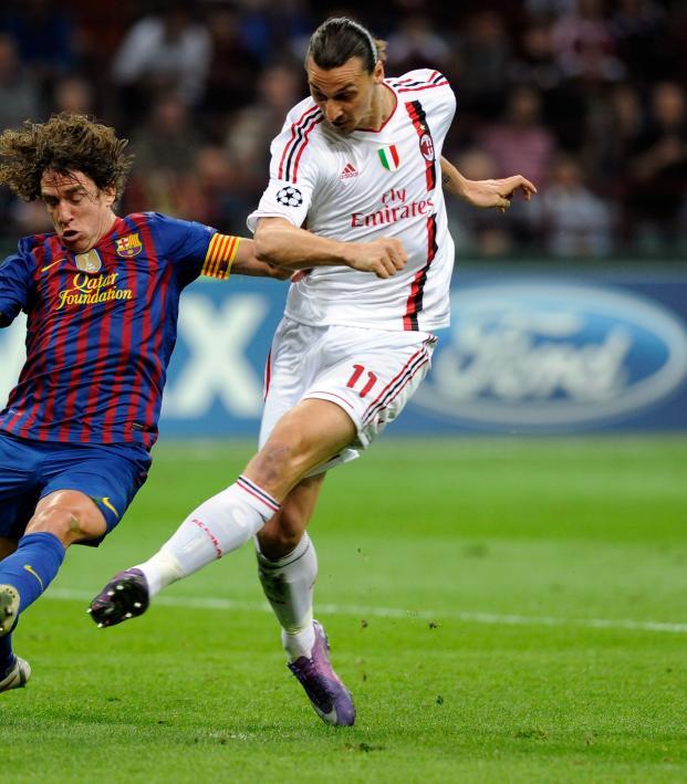 Zlatan Ibrahimovic AC Milan