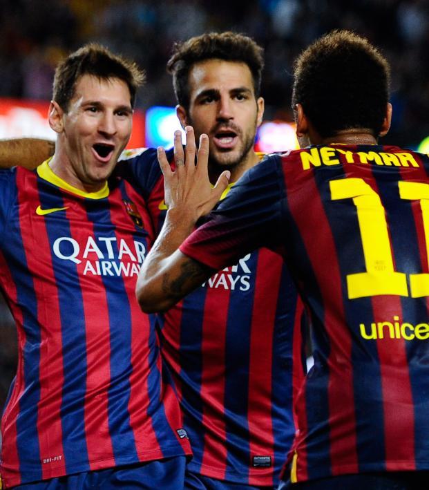 Fabregas best teammates