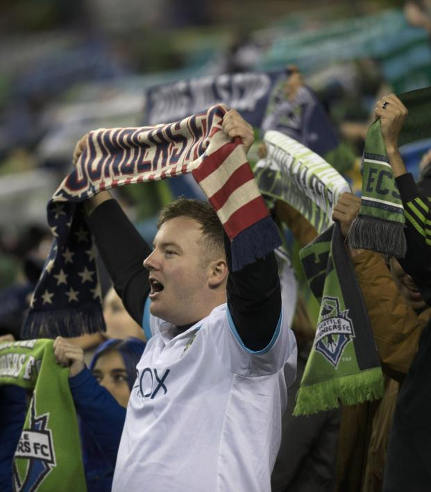 Seattle Sounders fan protest